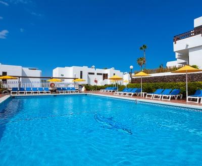 Schwimmbecken Wohnungen Paraíso del Sol